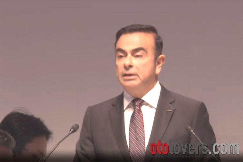 Mitsubishi akan lengserkan Carlos Ghosn dari posisi chairman