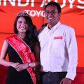 Gelar Miss IIMS 2015 untuk Windi dari Toyota