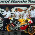 Duo jagoan MotoGP Honda kenalkan motor barunya di Sentul