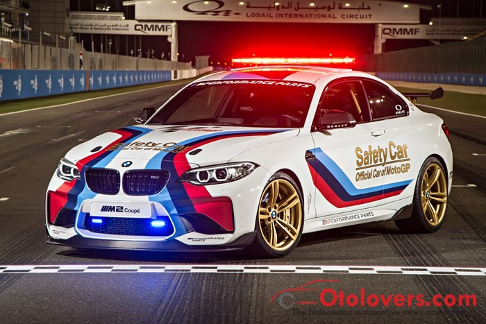 Ini Safety Car Motogp Bmw M Coupe Oto Sport