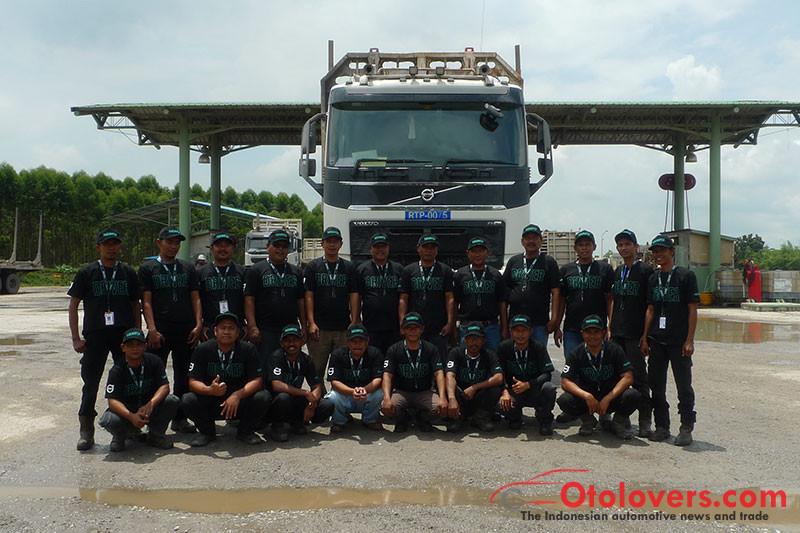 Lomba irit BBM ala Volvo Trucks
