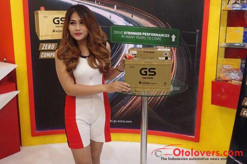 GS Astra kenalkan aki GS Calsium, kompak berdaya besar