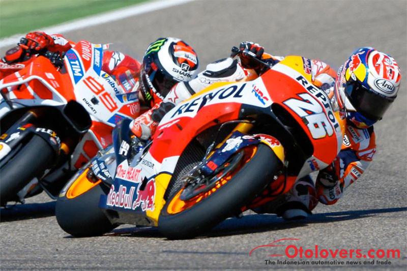 Klasemen MotoGP, Pedrosa geser Rossi