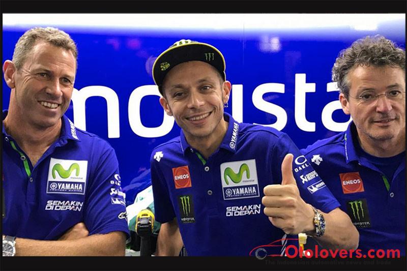 Rossi kembali fit, siap balap di Aragon