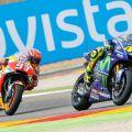 Marquez finish pertama di MotoGP Aragon