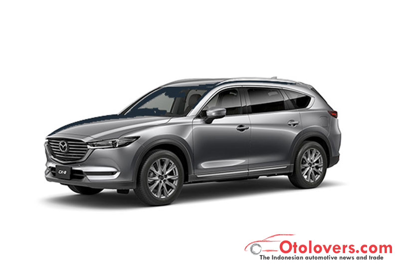 Mengenal Mazda CX-8 tiga baris kursi