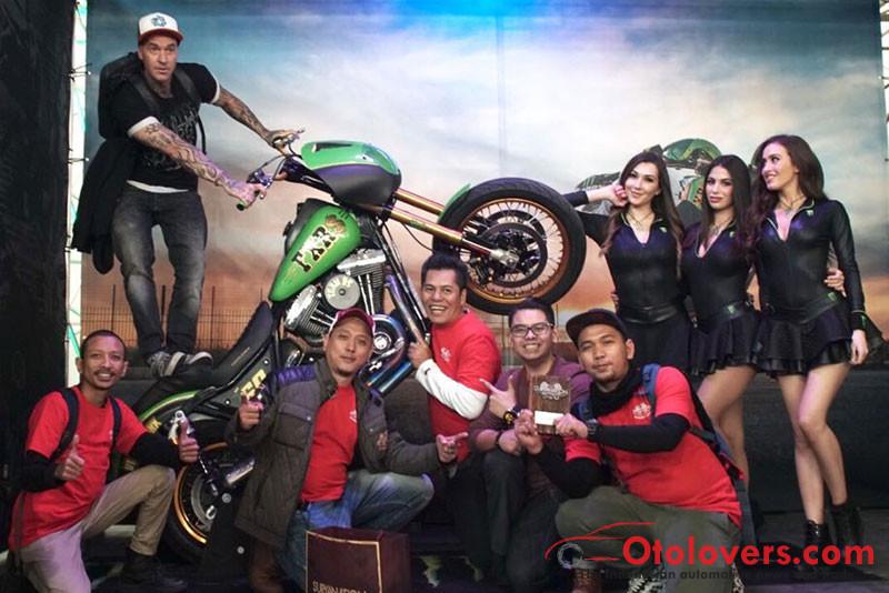 Motor custom Indonesia raih penghargaan di MBE Italia