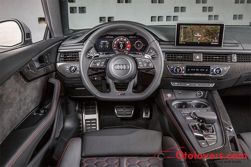 Kenapa Audi RS 5 Coupe 2018 powerfull meski mesin lebih kecil?