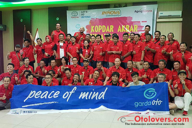 Ratusan anggota komunitas Innova kopdar di Jambi