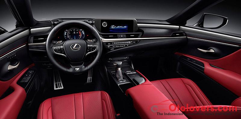 Lexus ES baru, mengubah citra bukan saja nyaman, tapi juga kinerja tinggi