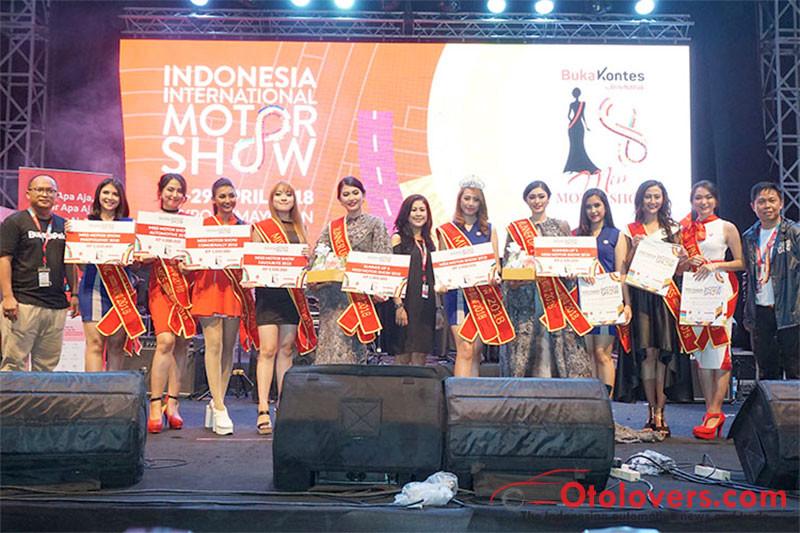 Novita Sari Miss Motorshow 2018
