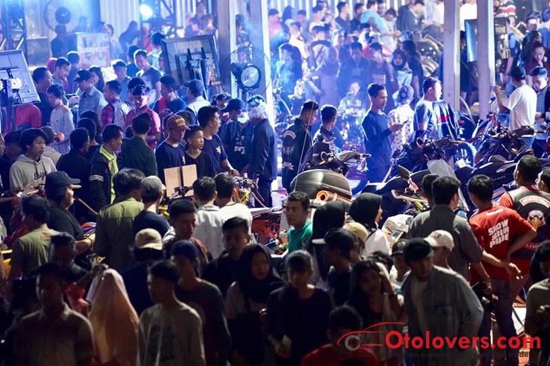 Suryanation Motorland Battle Palembang Dibanjiri 12 000