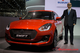 Suzuki mulai ekspor All-new Swift dari India