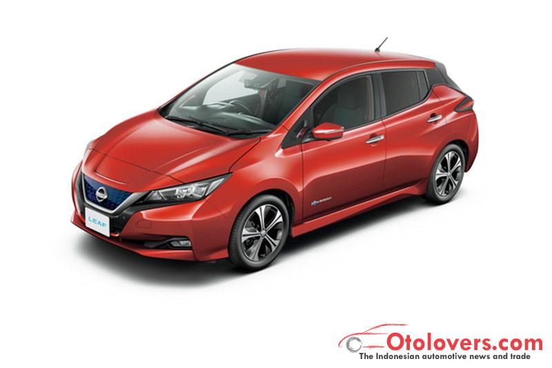 Nissan sudah jual 100.000 unit LEAF di Jepang