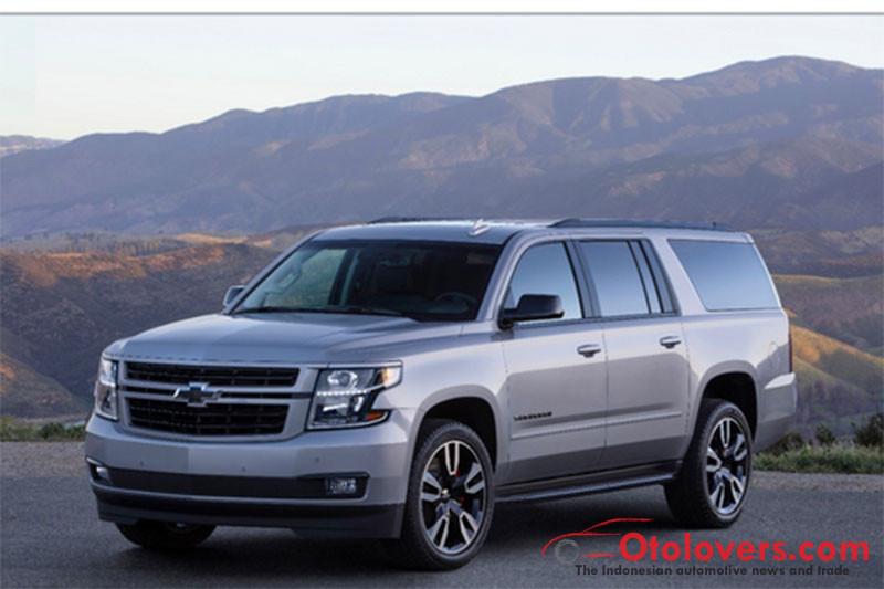 Chevrolet perbarui Suburban RST, dengan mesin dan performa baru