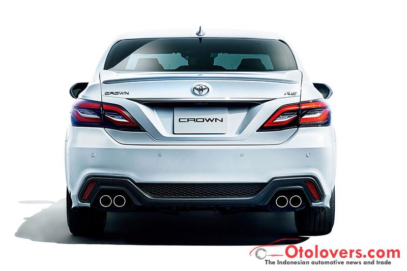 Ini penampilan Toyota Crown terbaru