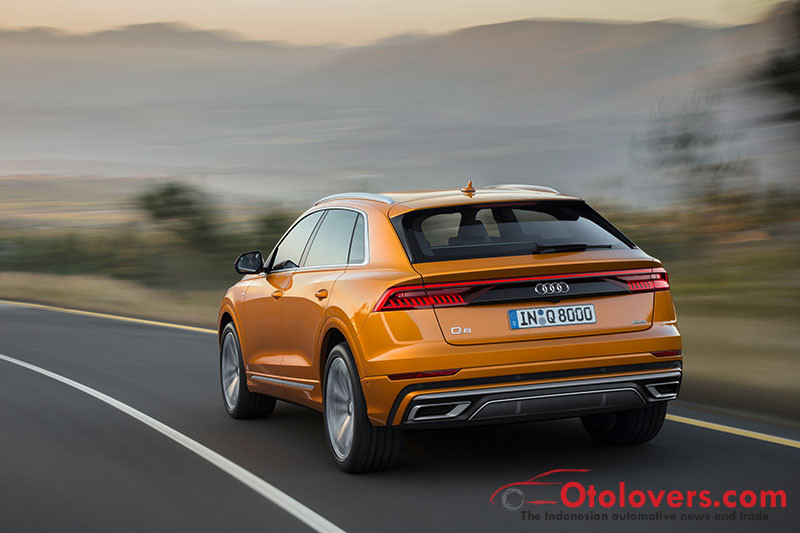 Audi Q8, makin sporty dan terhubung