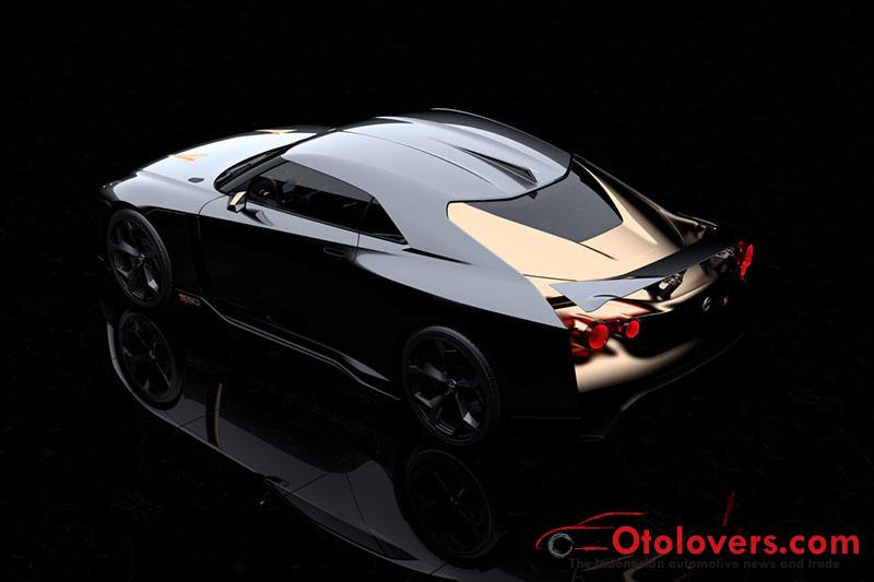 Nissan GT-R50 karya Intaldesign ini memang menawan