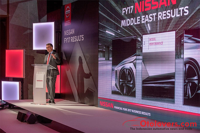 Nissan raih pertumbuhan baik di Timur Tengah