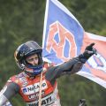 Ducati dominasi podium MotoGP Brno, setelah duel dengan Marquez