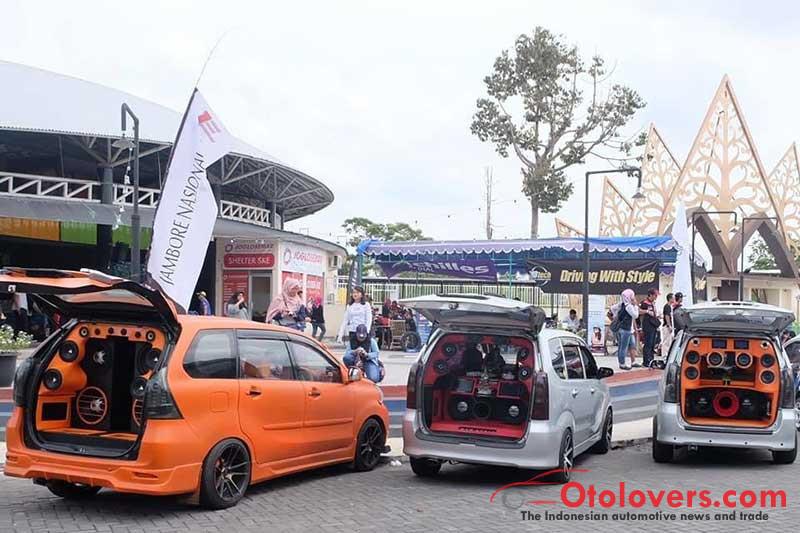 Eratkan persatuan, klub Daihatsu Xenia DXIC berjambore
