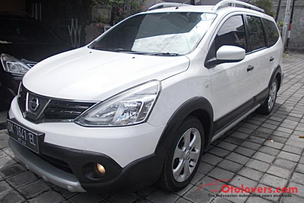 All New Nissan Grand Livina 1.5 X-Gear CVT X-Tronic Matik th 2013 asli Bali samsat baru