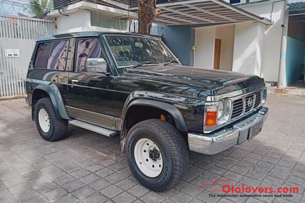 Nissan Patrol Short 3 Doors Y60 Manual 4WD 1993 mobil di Bali